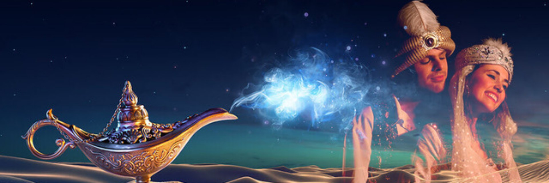 Aladdin & die Wunderlampe - Galli Theater Wiesbaden - Slider