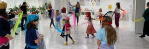Orientalischer Tanz für Mutter und Kind mit Heidi
